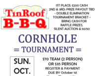 Tin Roof BBQ Cornhole Tournament